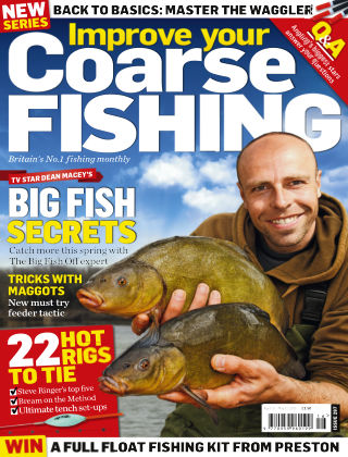 Improve Your Coarse Fishing Apr 15 - May 13 2015