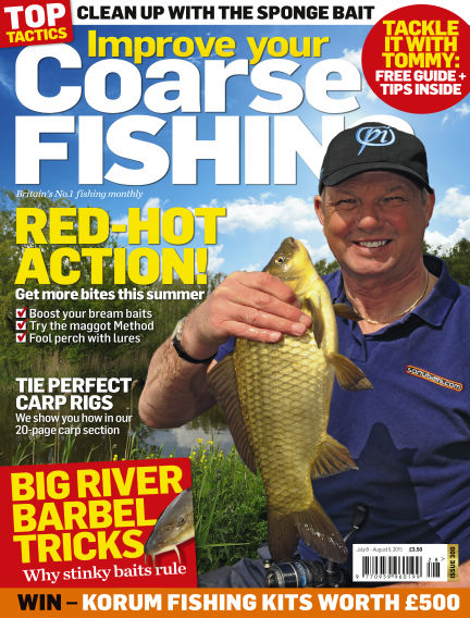 Improve Your Coarse Fishing July 08, 2015 00:00