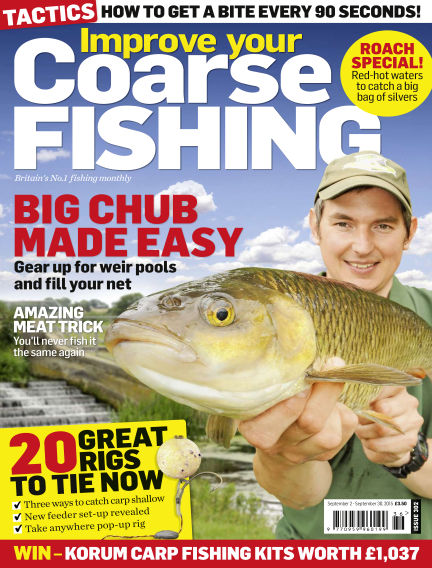 Improve Your Coarse Fishing September 02, 2015 00:00