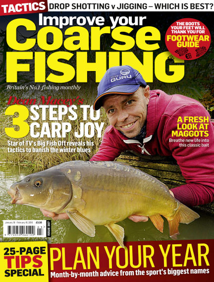 Improve Your Coarse Fishing January 19, 2016 00:00