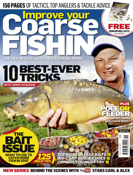 Improve Your Coarse Fishing May 10, 2016 00:00