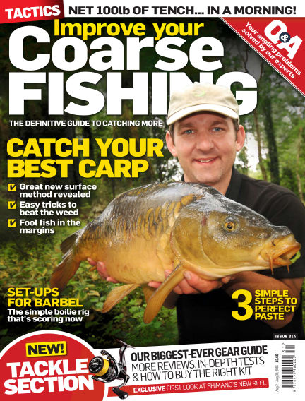 Improve Your Coarse Fishing August 02, 2016 00:00