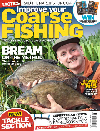 Improve Your Coarse Fishing Aug - Sep 2016