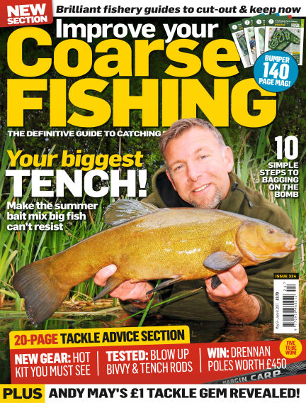 Improve Your Coarse Fishing May 09, 2017 00:00