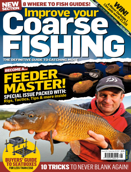 Improve Your Coarse Fishing August 29, 2017 00:00
