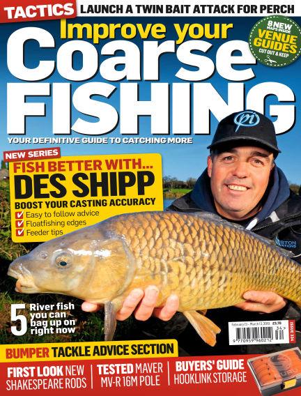 Improve Your Coarse Fishing February 13, 2018 00:00