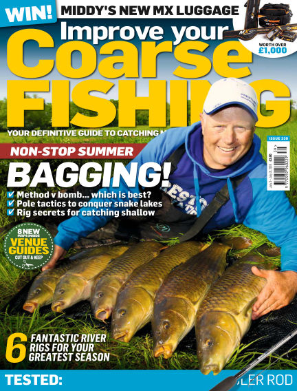Improve Your Coarse Fishing July 03, 2018 00:00