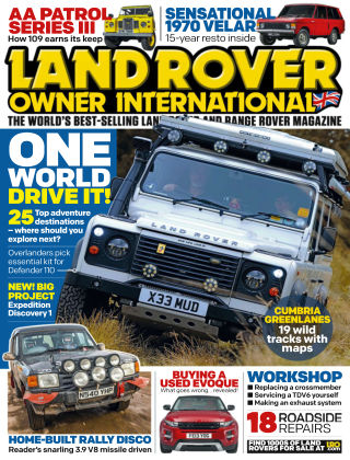 Land Rover Owner July 2014