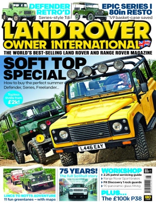 Land Rover Owner August 2014