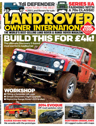Land Rover Owner March 2014