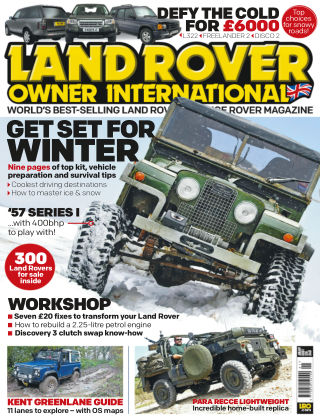 Land Rover Owner January 2015