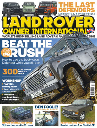 Land Rover Owner March 2015