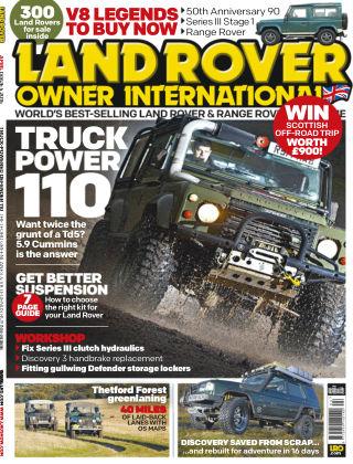 Land Rover Owner April 2015