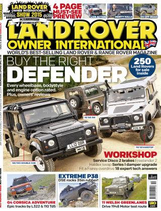 Land Rover Owner October 2015