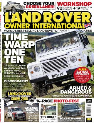 Land Rover Owner December 2015