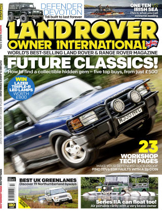 Land Rover Owner March 2016