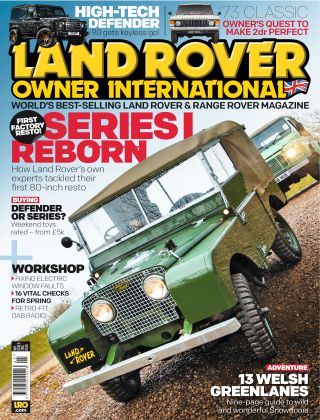 Land Rover Owner May 2016