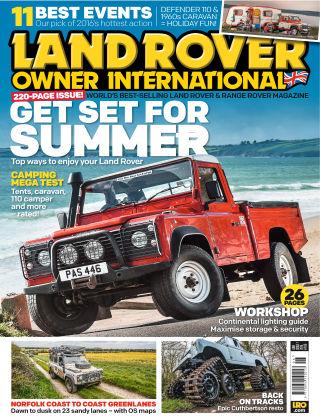 Land Rover Owner June 2016