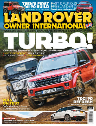 Land Rover Owner July 2016