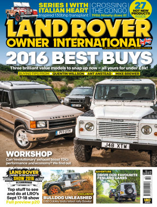 Land Rover Owner October 2016