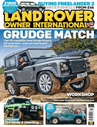 Land Rover Owner January 2017