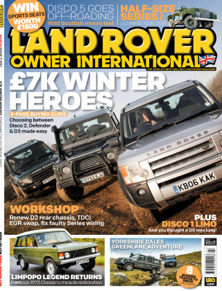 Land Rover Owner March 2017