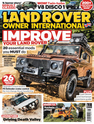 Land Rover Owner Aug 2017