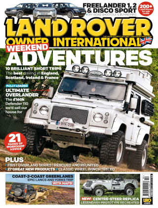 Land Rover Owner Oct 2017