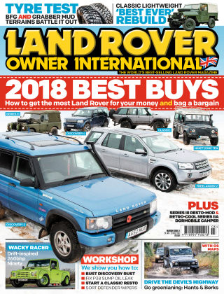 Land Rover Owner Mar 2018
