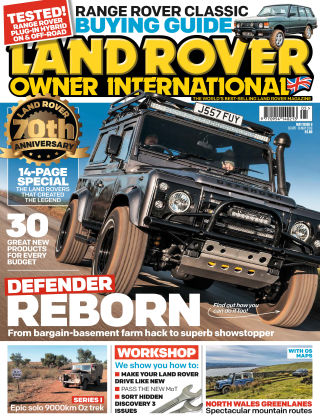 Land Rover Owner May 2018