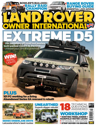 Land Rover Owner Oct 2018