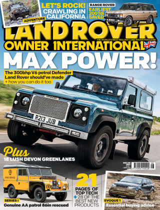 Land Rover Owner Aug 2019