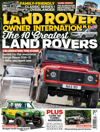 Land Rover Owner Oct 2019