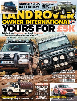 Land Rover Owner Jan 2020