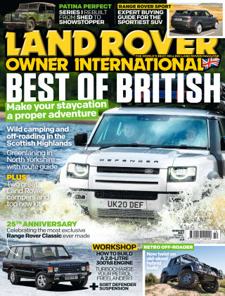 Land Rover Owner October 2020