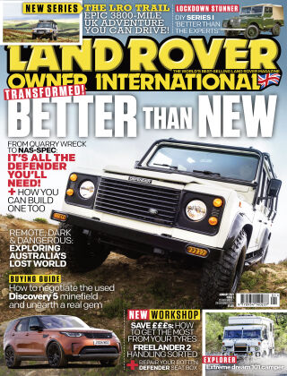 Land Rover Owner January 2021
