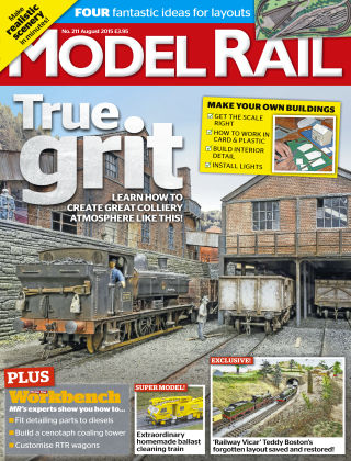 Model Rail August 2015