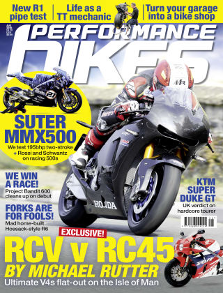 Performance Bikes August 2016