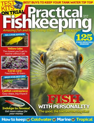 Practical Fishkeeping July 2014