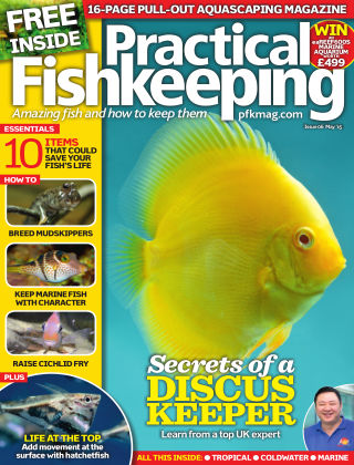 Practical Fishkeeping May 2015