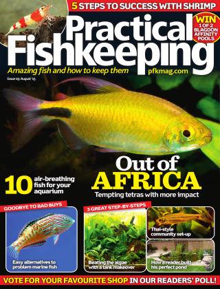 Practical Fishkeeping August 2015