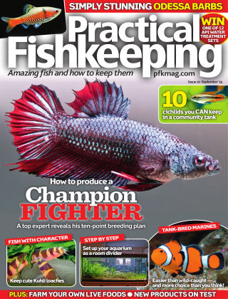 Practical Fishkeeping September 2015