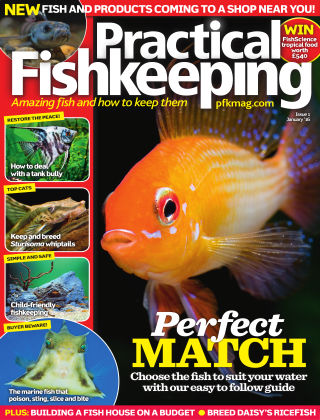 Practical Fishkeeping January 2016