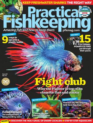 Practical Fishkeeping July 2016