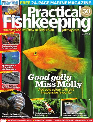 Practical Fishkeeping November 2016