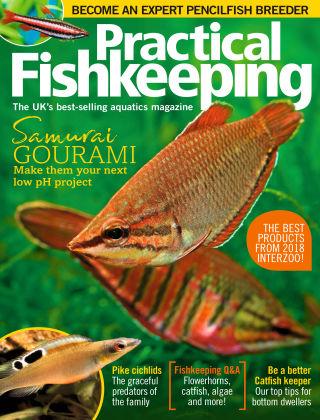 Practical Fishkeeping Aug 2018