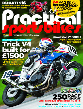Practical Sportsbikes July 2014