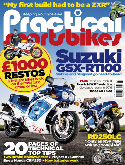 Practical Sportsbikes January 13, 2016 00:00