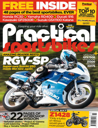 Practical Sportsbikes November 2016