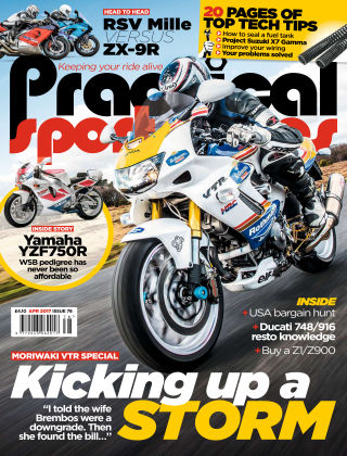 Practical Sportsbikes April 2017